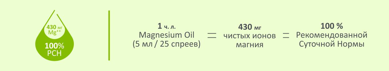 Суточная норма магния в магниевом масле фото