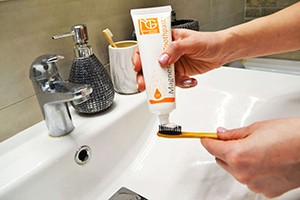Магниевая зубная паста без фтора для чувствительных десен+